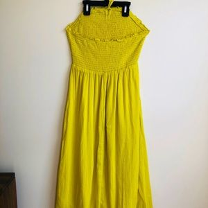 Old Navy strapless midi dress